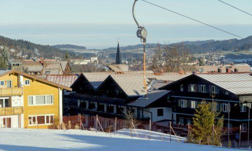nur 50 m vom Skilift gelegen...