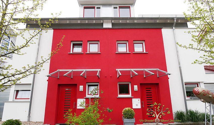 Außenansicht - Haus links